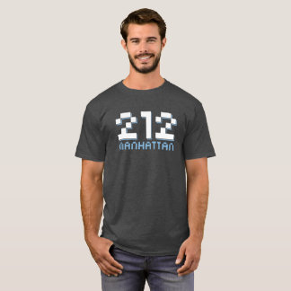 212 Manhattan NYC Area Code T-Shirt