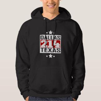 214 Dallas TX Area Code Hoodie