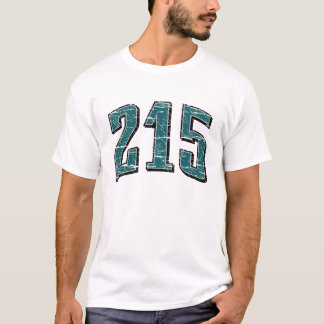 215 (Area Code) T-shirt