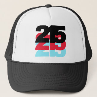215 Area Code Trucker Hat