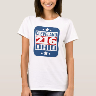 216 Cleveland OH Area Code T-Shirt