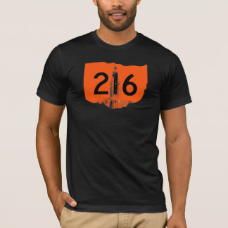 216 with Terminal Tower T-Shirt