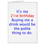 21 buy me a drink