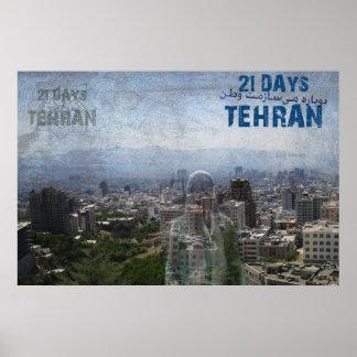 21 days Tehran Poster