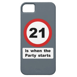 21 is when the Party Starts iPhone 5 Covers