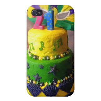 21 Mardi Gras Cake Case For The iPhone 4