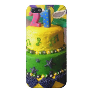 21 Mardi Gras Cake iPhone 5/5S Covers