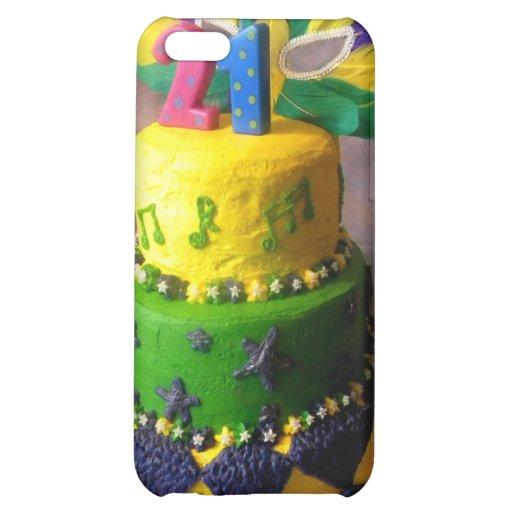 21 Mardi Gras Cake iPhone 5C Cases