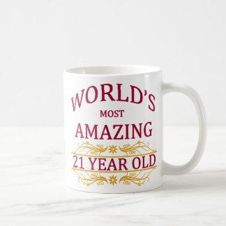 21st. Birthday Coffee Mug