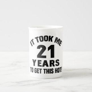 21st Birthday Humor Tea Cup