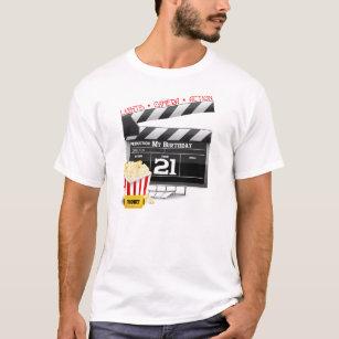 21st Birthday Movie Party T Shirt