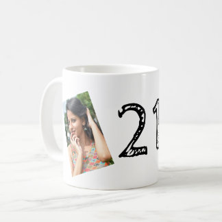 21st Birthday PHOTO Mug
