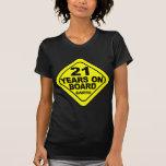 21st Birthday T Shirt