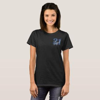 21st Blue | 21 Legal Glitter Fun Birthday Party T-Shirt