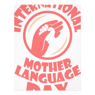 21st February - International Mother Language Day Customized Letterhead