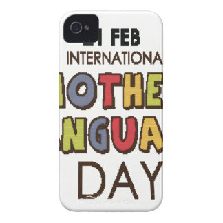 21st February - International Mother Language Day iPhone 4 Case