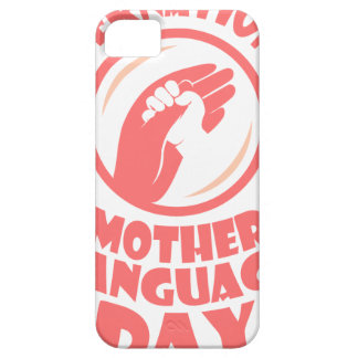 21st February - International Mother Language Day iPhone 5 Cases