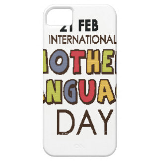 21st February - International Mother Language Day iPhone 5 Covers