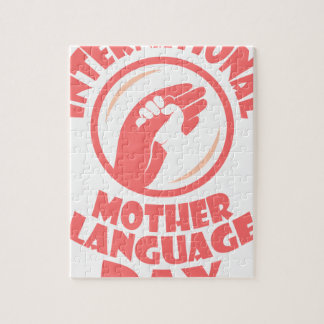 21st February - International Mother Language Day Jigsaw Puzzle
