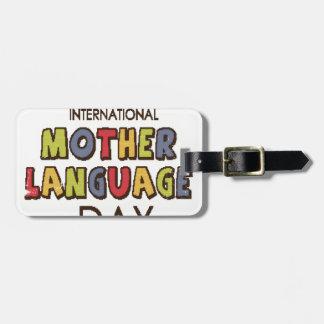 21st February - International Mother Language Day Luggage Tag