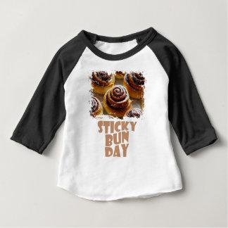 21st February - Sticky Bun Day Baby T-Shirt