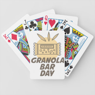 21st January - Granola Bar Day Bicycle Playing Cards