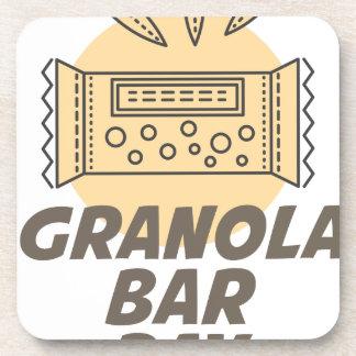 21st January - Granola Bar Day Drink Coasters