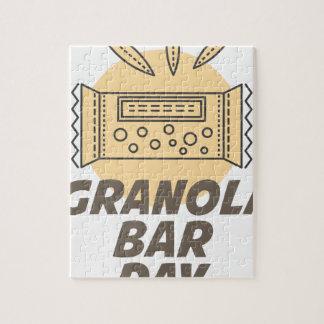 21st January - Granola Bar Day Jigsaw Puzzle