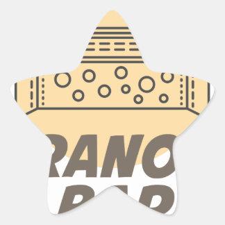 21st January - Granola Bar Day Star Sticker