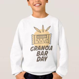 21st January - Granola Bar Day Sweatshirt