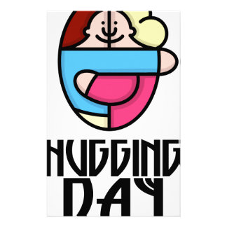 21st  January - Hugging Day - Appreciation Day Stationery
