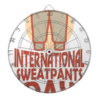 21st January - International Sweatpants Day Dartboard