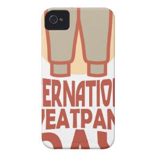 21st January - International Sweatpants Day iPhone 4 Case-Mate Case