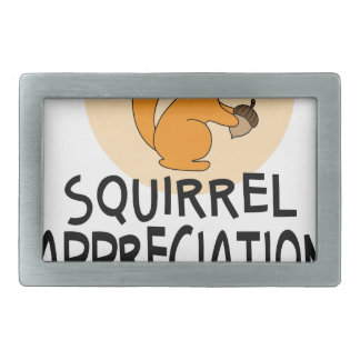 21st January - Squirrel Appreciation Day Belt Buckle