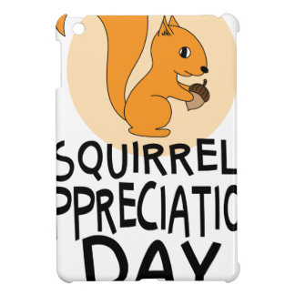 21st January - Squirrel Appreciation Day Cover For The iPad Mini