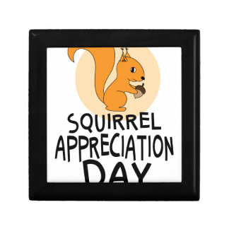 21st January - Squirrel Appreciation Day Gift Box