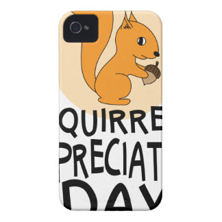 21st January - Squirrel Appreciation Day iPhone 4 Case-Mate Cases