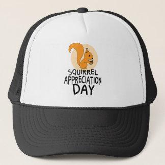 21st January - Squirrel Appreciation Day Trucker Hat