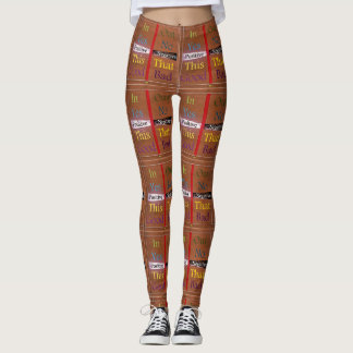 21st Quote; Positive Over Negative Leggings
