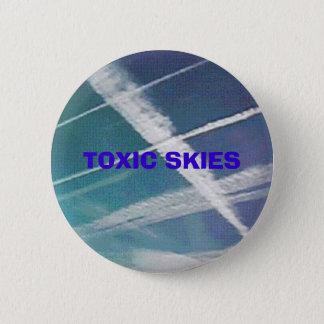 21stCenturyPolitix - TOXIC SKIES button