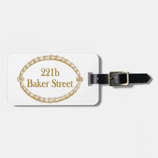 221b Baker Street Bag Tag