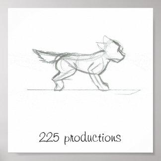 225 logo poster