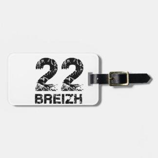 22 Breizh Luggage Tag