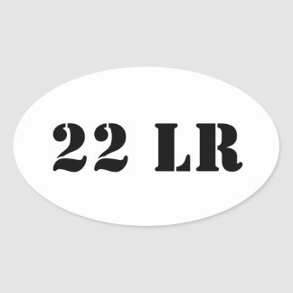 22 LR ammo can sticker
