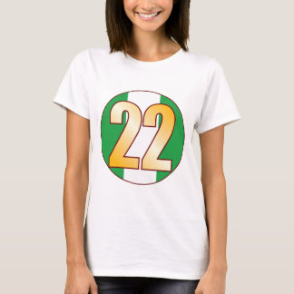 22 NIGERIA Gold T-Shirt