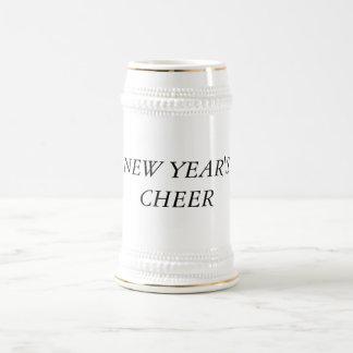22 oz. New Year's Beer Stein