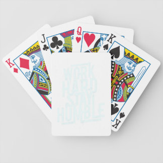 22nd February - Be Humble Day - Appreciation Day Bicycle Playing Cards