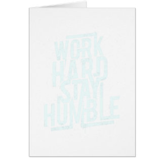 22nd February - Be Humble Day - Appreciation Day Card