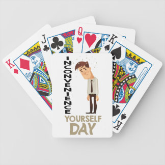 22nd February - Inconvenience Yourself Day Bicycle Playing Cards