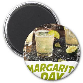 22nd February - Margarita Day 2 Inch Round Magnet